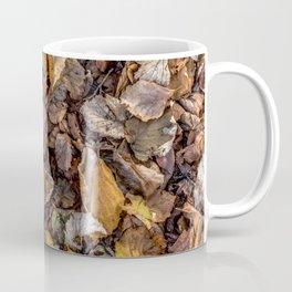 Fallen autumnal leaves Coffee Mug