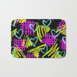 Dark Heart Bath Mat