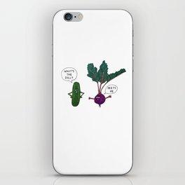 Veggie Convos iPhone Skin