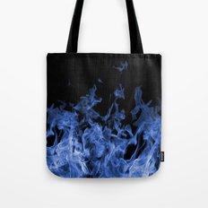 Blue Flame Tote Bag