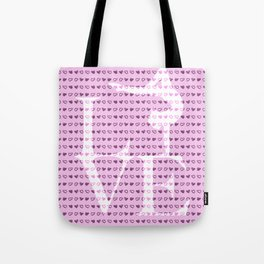 Love Gymnastics - Pink Tote Bag