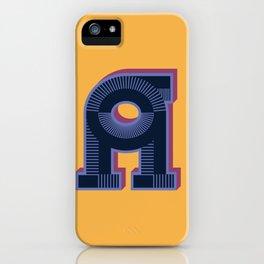 Alphabet Drop Caps Series- A iPhone Case