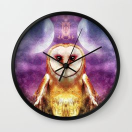 She shines all over the world Wall Clock