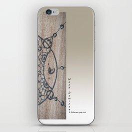 Wood Dominoes - #4 iPhone Skin