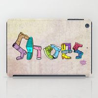 shoes iPad Cases featuring Shoes by Anthony Mwangi