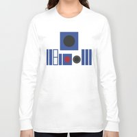r2d2 Long Sleeve T-shirts featuring R2D2 by VineDesign