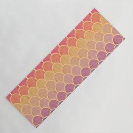Watercolor Lovely Pattern VVIV Yoga Mat