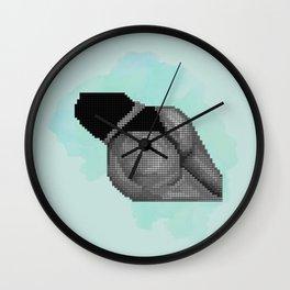 """""""SEND NUDES"""" NO. 09 Wall Clock"""