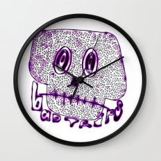 Bad Trips Wall Clock