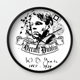 OCULT DUBLIN series: W.B. Yates Wall Clock