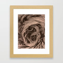 Caves within Caves Framed Art Print