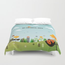 My Colorful Days Duvet Cover