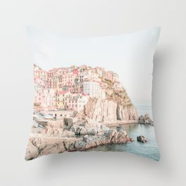 Positano, Italy Amalfi Coast Romantic Photography Throw Pillow