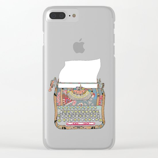 I DON'T KNOW WHAT TO WRITE YOU Clear iPhone Case