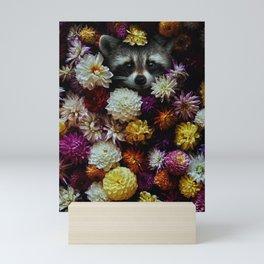bloom with grace. Mini Art Print