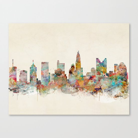columbus ohio  Canvas Print