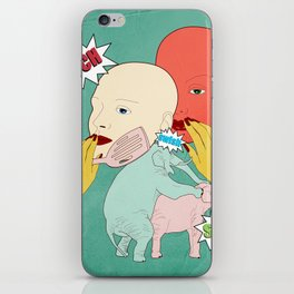 Ouch iPhone Skin