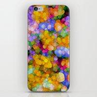 hippie iPhone & iPod Skins featuring Hippie Colors by Joke Vermeer