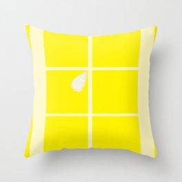 Rectangle lemon Throw Pillow