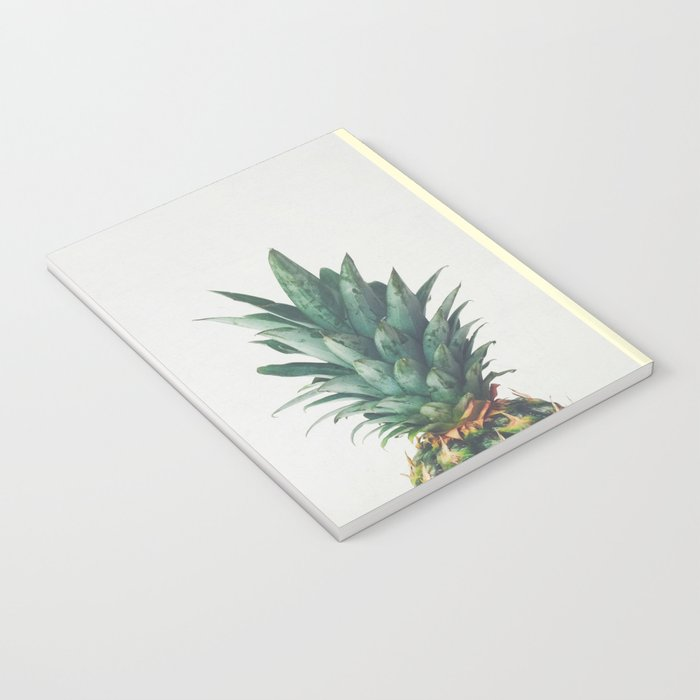 Pineapple Top Notebook