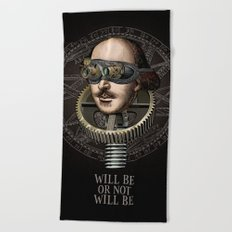Will be or not will be Beach Towel