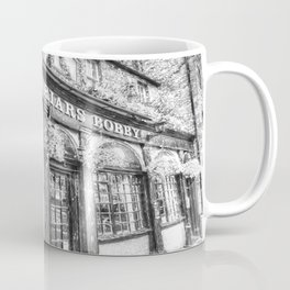Greyfriars Bobby Pub Snow Coffee Mug