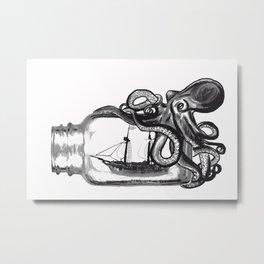 Constraints Metal Print