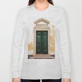 Old door in Tavira, Portugal Long Sleeve T-shirt