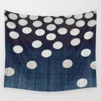 indigo Wall Tapestries featuring Indigo by Good Sense