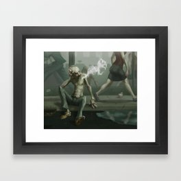 Sexy in the City Framed Art Print