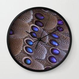 Mulicolor Pheasant Wall Clock