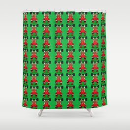 Lift It! Shower Curtain