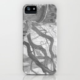 Forest Wall iPhone Case