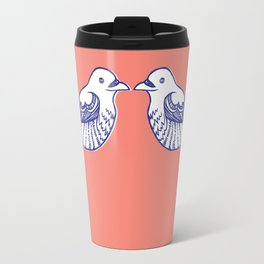 Turtle doves Travel Mug