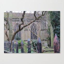 Oxford Cemetary Canvas Print