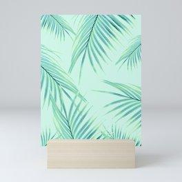 Summer Palm Leaves Dream #1 #tropical #decor #art #society6 Mini Art Print
