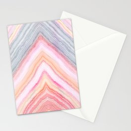 Agate Chevron II Stationery Cards