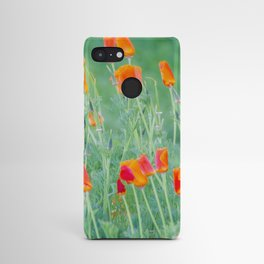 California Poppies Android Case