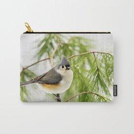 Titmouse Bird Carry-All Pouch