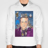 robin williams Hoodies featuring Robin Williams  by Aviva Bubis Art and Stuff