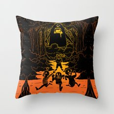 Ruuuun!! Throw Pillow