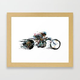 Shinya Needle Framed Art Print