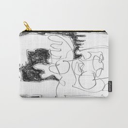 Static Noise - b&w Carry-All Pouch