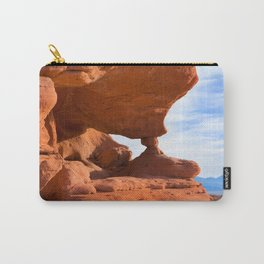 Red Rock Pillars Carry-All Pouch