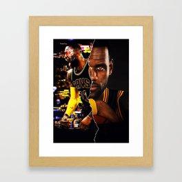 Mask Off Framed Art Print