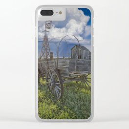 Frontier Farm No 235 Clear iPhone Case