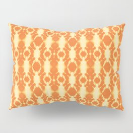 rotary tie-dye pattern in sunny yellows Pillow Sham