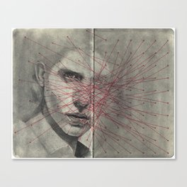Obscure, Destroy Sketchbook Spread 1 Canvas Print