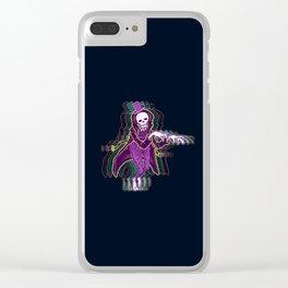 Spooky Little Guy Clear iPhone Case