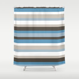 Abstract IV JL Shower Curtain